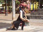 Dancing the  Tango at Buenos Aires